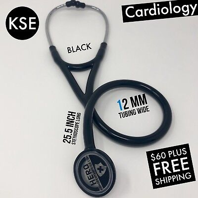 Kse Master Cardiology Stethoscope Black By Kongs Enterprise