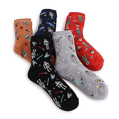 SPACEMAN socks 5pairs(5COLOR)=1pack woman women s girl FUNNY [ukfx]