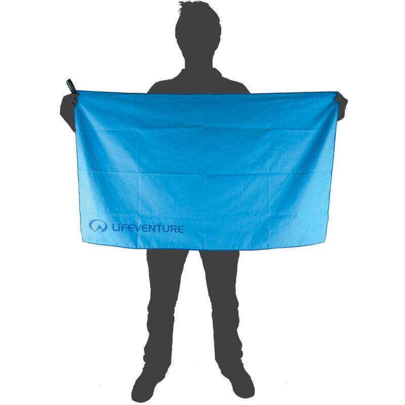 Lifeventure SoftFibre Advance Trek Towel - Blue - Large
