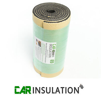 Car Parts - Car Sound Deadening Insulation 10mm Vehicle Proofing Closed Cell Foam 2m x 0.5