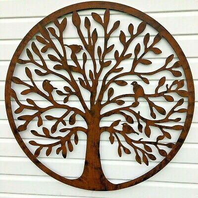 Massive Tree Of Life, Metal Wall Art, Garden Home Ornament, 1 Meter Diameter