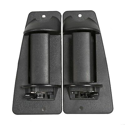 Extended Cab Pair Rear Outside Door Handle for Chevrolet Silverado  GMC Sierra