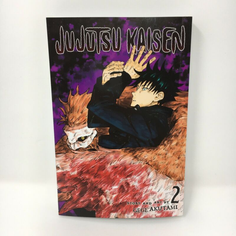 Jujutsu Kaisen Vol. 2 English Manga By Gege Akutami Brand New