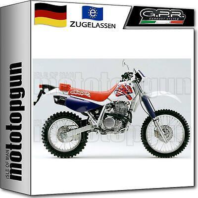 GPR AUSPUFF ABE FURORE SCHWARZ HONDA XR 600 R 1999 99 online kaufen