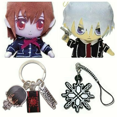 Anime Vampire Knight Zero Takuma Hanabusa Yuki Plush Keychain Charm Wristband