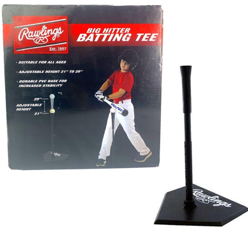 Rawlings Big Hitter Adjustable Batting Tee Ball - T-Ball Tanners Sports Baseball