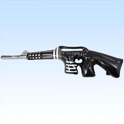 Aufblasbare Maschinenpistole 90cm MPI Gewehr Waffe Fasching Gangster - Aufblasbare Pistole