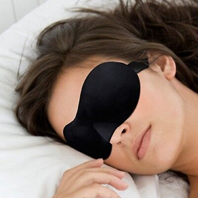 Travel 3D Eye Mask Sleep Soft Padded Shade Cover Rest Relax Sleeping Blindfold Travel Eye Shades