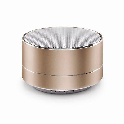 Chic Bluetooth (Urbanz Chic Bluetooth Speaker Powerful Bass Wireless Portable Speaker - Gold)