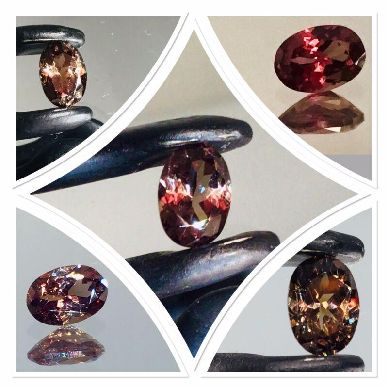 Colour Change Bekily Garnet Exceptionally Rare Untreated Gemstone 1.15 Carat
