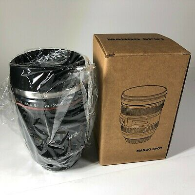 MANGO SPOT Best Camera Lens Thermos Stainless Steel Cup/Mug for Coffee Tea