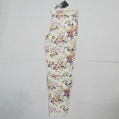 DEHA women's trousers mod.D15697 col.BIANCO/MULTICOLOUR sz. XL summer 2015