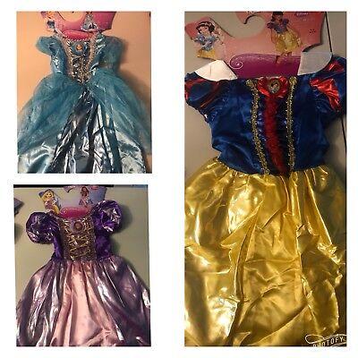 Disney Princess Cinderella,Snow White,Rapunzel Dress Halloween/Dress up Costume (Cinderella Dress Halloween)