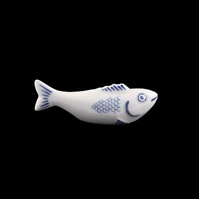 Meissen Aquatinta Stäbchenhalter Der Fliegende Fisch || Flying Fish 1. Wahl
