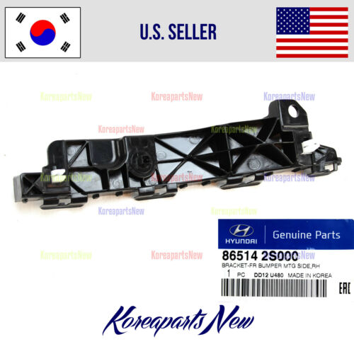 Genuine Hyundai Parts 86552-2S000 Passenger Side Front Bumper Cover Retainer