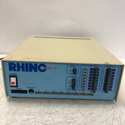 Rhino Robot Controller Mark Iv Unit- Tested - Working Unit Only
