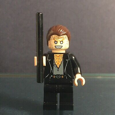 Lego 10217 Harry Potter - Diagon Alley Minifigure: Fenrir Greyback with wand