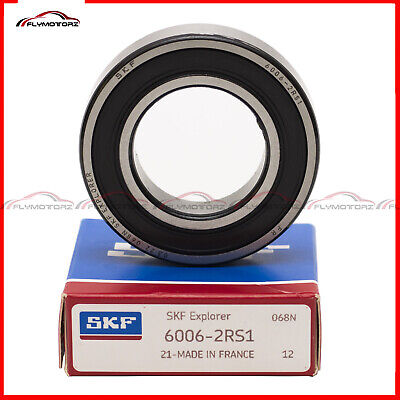 1 Pcs Skf 6006-2rs Rubber Seal Ball Bearing 30x55x13 Mm Made In France Ntn 2rs1