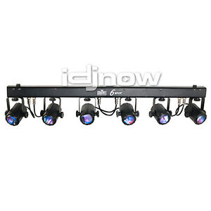 Chauvet 6Spot 6 Spot LED DJ DMX RGB Spotlight Stage Light Lighting Effect