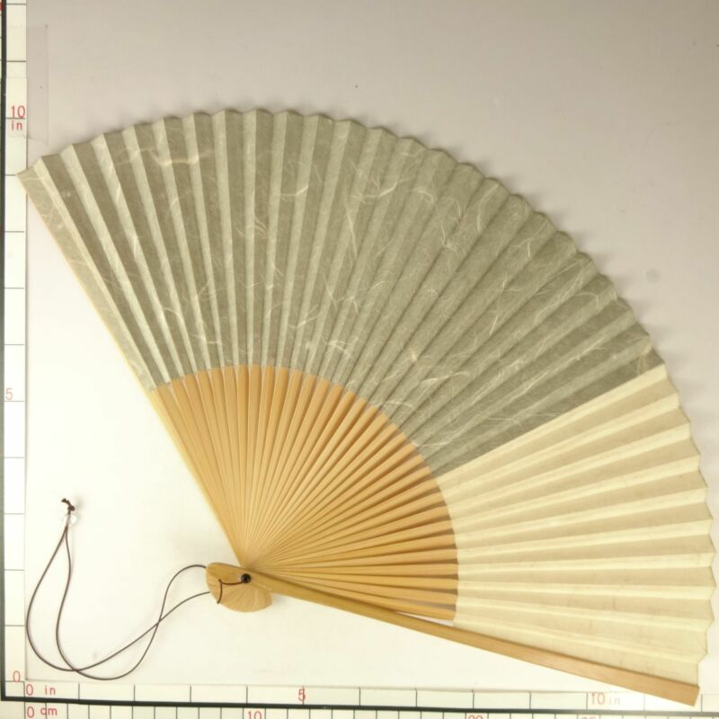 YU184 SENSU Japanese Fan Art painting Washi Picture Traditional crafts Vintage
