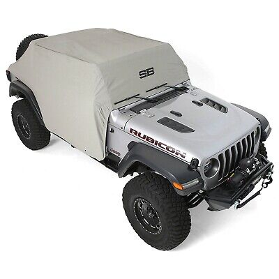 - Smittybilt 1071 (IN STOCK) Water-Resistant Cab Cover w/ Door Flaps Jeep JL 4-Dr
