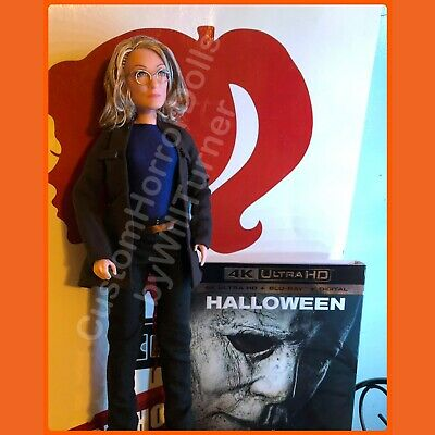 "Halloween Horror Dolls (HALLOWEEN 2018 Laurie Strode CUSTOM HORROR DOLL 12"" Action Figure OOAK Jamie)"