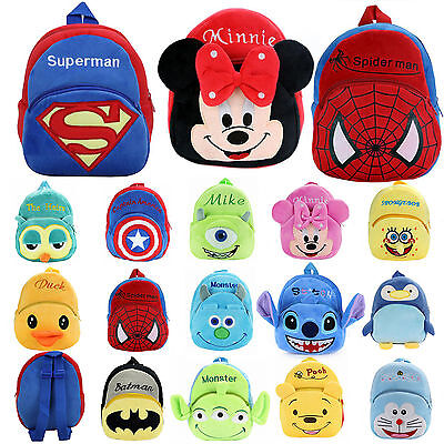 Baby Kids Unisex Mini Backpack Cartoon Animal Schoolbag Small Shoulder Bags Gift