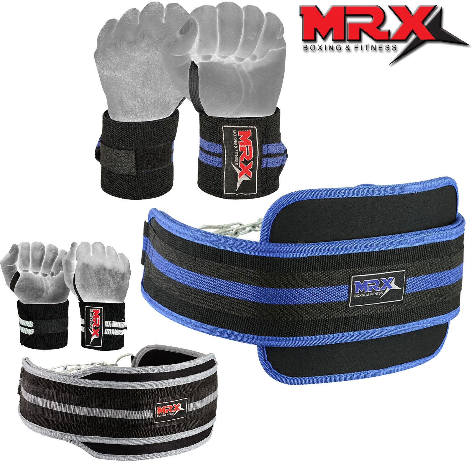 Weight Lifting Power Training Bodybuilding Dip Belt Wrist Support Gloves Fitness