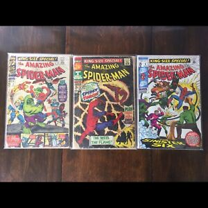 Amazing spider-man king-size annual 3 4 and 6
