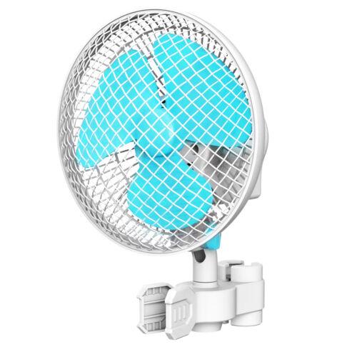 "VIVOSUN 6"" inch 2-Speed Clip On Oscillating Fan for Hydropon"