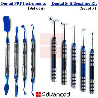 Dental Soft Brushing Kit Prf Surgery Process Instruments Implant Membrane Tools