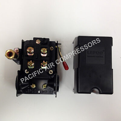 Furnas Replacement Pressure Switch. Four Port. 140-175 Psi