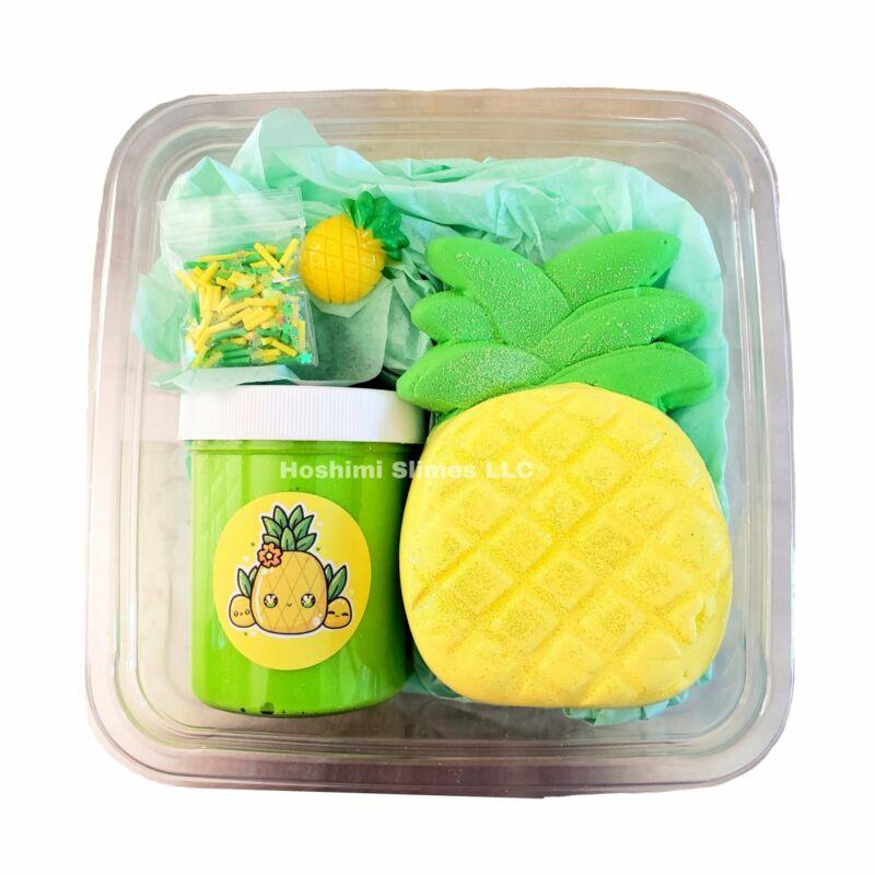 Pineapple Paradise DIY Slime Kit