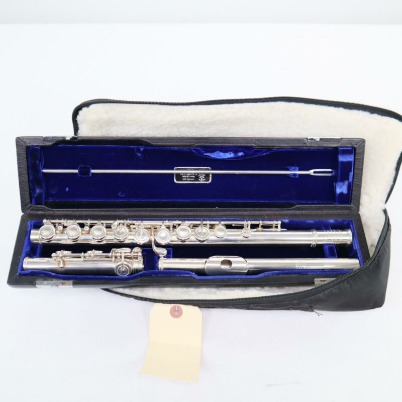 William S. Haynes Handmade Flute with Closed Holes SN 32994 WOW