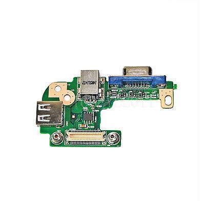 Dc Power Jack Port Vga Usb Io Board For Dell Inspiron 15R N5110 Pfyc8