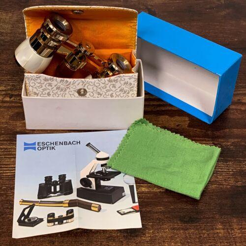 VTG Estate Eschenbach 3x25 256 Japan Opera Glasses Binoculars w/ Box! 37