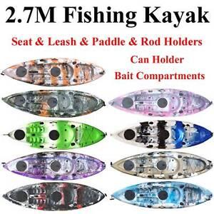 Central Coast  4WD, Caravan & Camping Show 2.7M fishing kayak Tumbi Umbi Wyong Area Preview