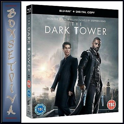 The Dark Tower   Idris Elba  Matthew Mcconaughey    Brand New Blu Ray