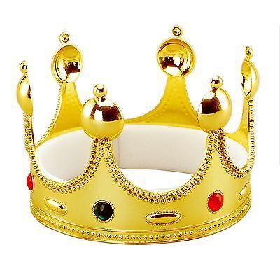 Kinder Erwachsene König Königin Gold Krone Königliche Hochzeit - Königliche König Krone