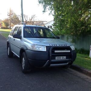 Landrover Freelander (silver with black interior) Tumut Tumut Area Preview