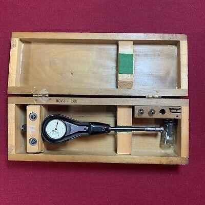 Vintage Standard Gage Company  0 Dial Bore Gage Range 38 - 58