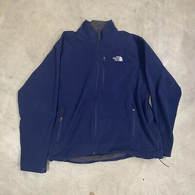 North Face Mens Full Zip Jacket Light Weight Used