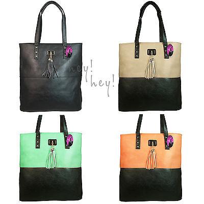 Modische Einkaufstaschen (Große Handtasche Groß Einkaufstasche Mädchen Damen Modische Schultertasche)