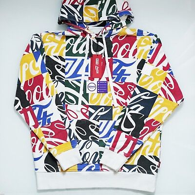 KITH x Coca Cola Cubed Hoodie Coke Multi Color - Size XS S M L XXL - SHIPS NOW