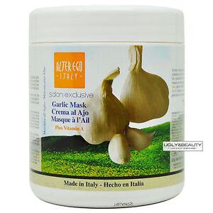 Alter Ego Garlic Hair Mask Plus Vitamin A 1000 mL / 33.8 oz Hot Oil Treatment