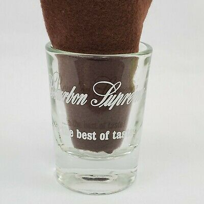 Bourbon Supreme 2 oz Shot Glass In the Best of Taste! The American Distilling (Best Bourbon Tasting Glasses)