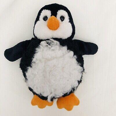 Douglas Baby Penguin Plush Stuffed Animal 6 Inches Black And White
