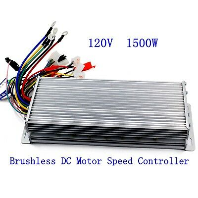 120V 1500W Electric Bicycle E-bike Scooter Brushless DC Motor Speed Controller Brushless Electric Motor Speed Controller