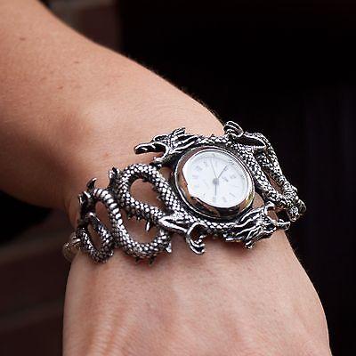 GENUINE Alchemy Gothic Watch - Imperial Dragon | Ladies Fashion Jewellery