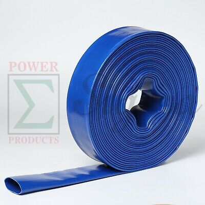 Sigma 1.5 1-12 X 50 Ft Feet Agricultural Pvc Lay Flat Discharge Pump Hose